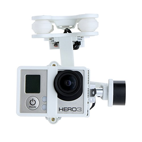 GoolRC Walkera G-2D 2 Axes Brushless Gimbal pour iLook/ GoPro Hero 3 3+ / Sony Cam TE066