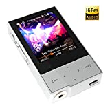 HIDIZS AP60 Ⅱ High Resolution Digital Audio Player Bluetooth FLAC WAV MP3 Music Player with SD Card Slot,Support up to 256GB (Silver)
