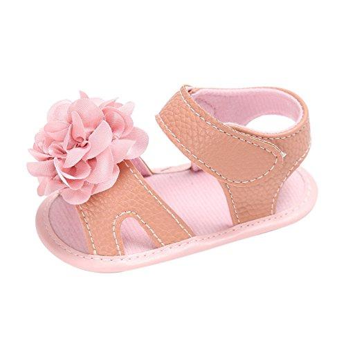 Sandalias De Bebe,BOBORA Prewalker Zapatos Primeros Pasos Para Bebe Sandalias Frescas De La Flor De La Muchacha A2