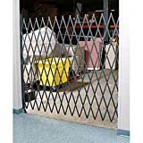 Cheap 5-1/2'W Single Folding Security Gate, 5'H