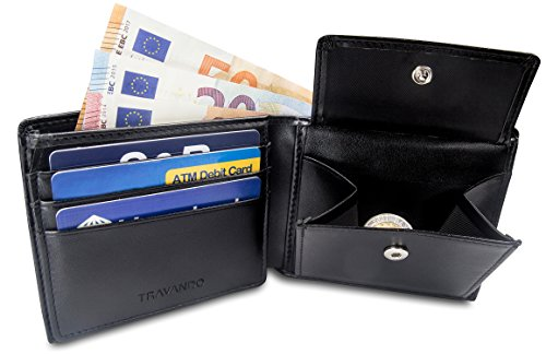 "Black Wallet TRAVANDO Mens Mens Wallet ""Berlin TRAVANDO 0fq0p"