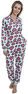 Women's Body Candy Wonderful Winter Hooded One Piece Plush Onesie