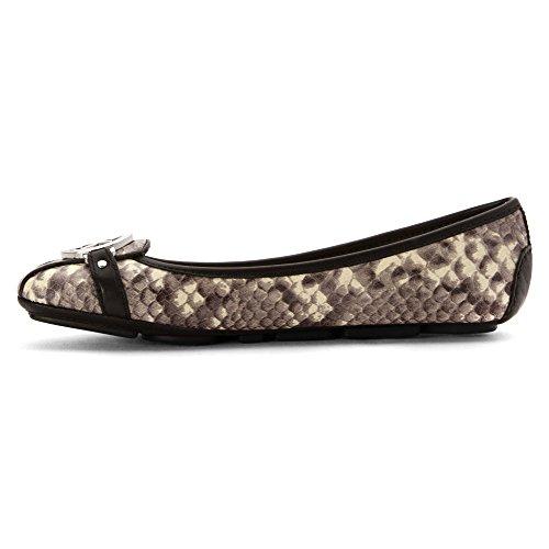 Michael Michael Kors Fulton Moc Piel Zapatos Planos Natural