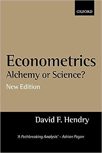 amazoncom econometrics alchemy or science essays in econometric  econometrics alchemy or science essays in econometric methodology nd  edition