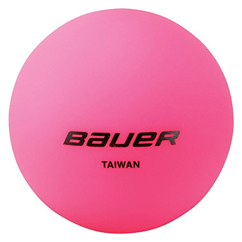 Bauer Cool Pink Hockey Ball (Pack of 4)