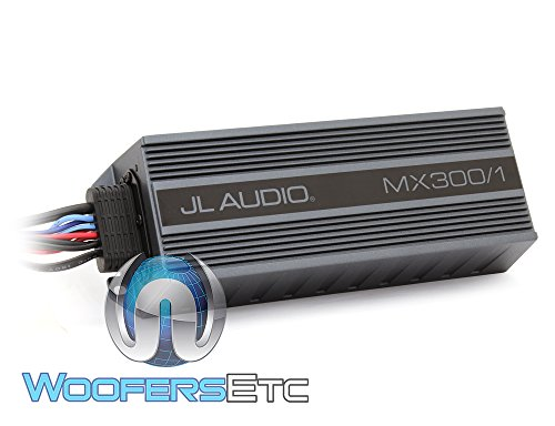 JL Audio MX300/1 300W MX Series Class-D Monoblock PowerSport Amplifier