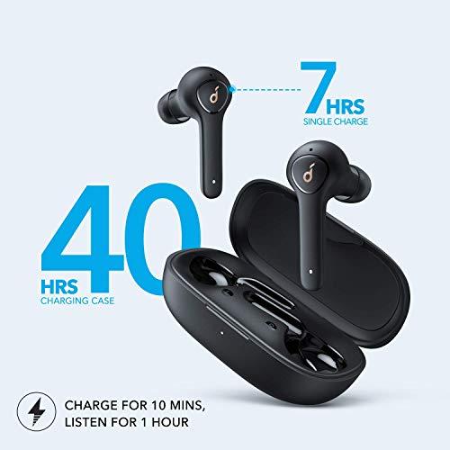 Anker Soundcore Life P2 True Wireless Earbuds com 4 microfones, CVC 8.0 redução de ruído, driver de grafeno, som nítido…