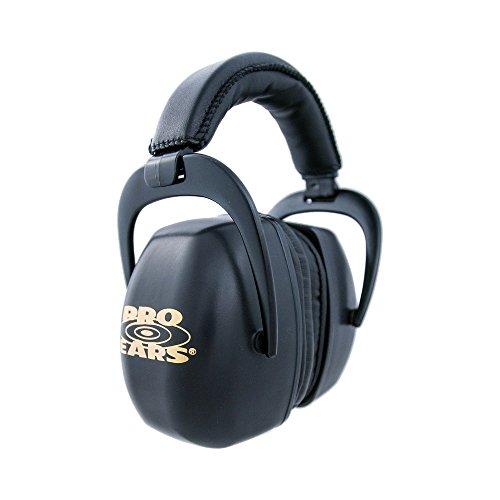 Pro Ears - Ultra Pro - Hearing Protection - NRR 30 - Shooting Range Ear Muffs - Black