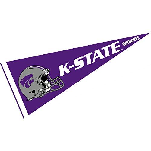 Kansas State Wildcats Team Pennant - KSU Wildcats Football Helmet Pennant