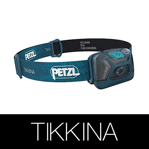Petzl - TIKKINA Headlamp, 150 Lumens, Standard Lighting, Blue