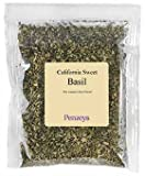 Basil California Sweet By Penzeys Spices .6 oz 3/4 cup bag
