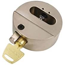 "Trimax THPXL ""Hockey Puck"" Internal Shackle Trailer Door Lock - Rekeyable"