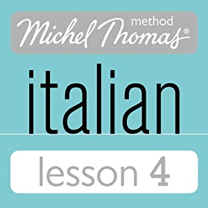 Michel Thomas Beginner Italian Lesson 4 Hörbuch