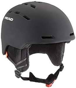 Head Casco de Esqu&Iacute Unisex Varius, Otoño-Invierno, Unisex, Color Negro, tamaño XL/XXL