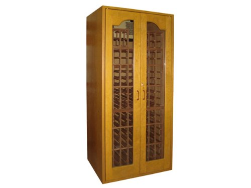 Sonoma 250-Model Wine Cabinet in Cherry by Vinotemp