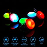 6PCS Clip-on Dog Cat Collar Lights, LED Pet Collar