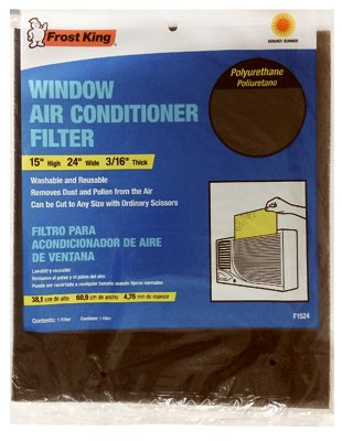 Frost King Washable and Re-Usable Window Air Conditioner Filter
