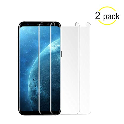 [2-Pack] Galaxy S9 Plus Screen Protector,NiceFuse Tempered Glass Screen Protector with [9H Hardness][Easy Bubble-Free Installation][Anti-Scratch] for Samsung Galaxy S9 Plus. by NiceFuse