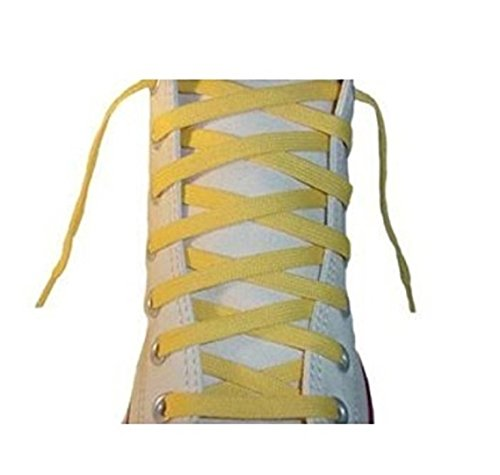 Bowling Shoe Yellow (Flat Shoelaces 3/8