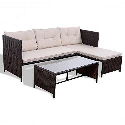 Fold Pp Wall (Mix Brown PP cotton and polyester fabrics Outdoor Patio Table and Chair Set With Ebook)