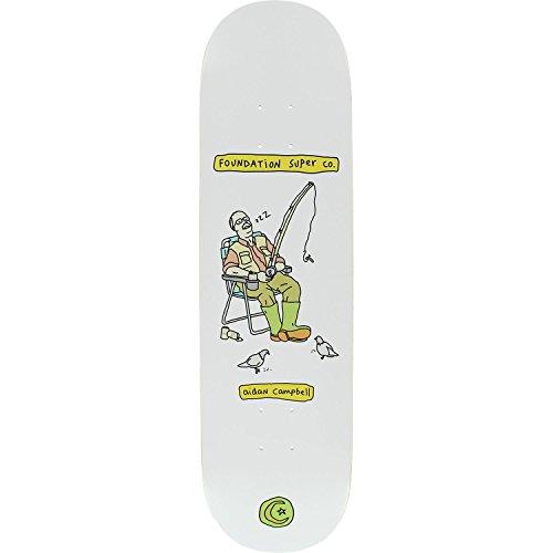 抜け目がないパーセントバンケットFoundationスケートボードエイダンCampbell Senior CitizenスケートボードDeck – 8.25