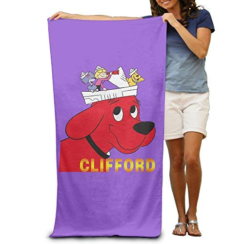 YINGWANGYJ Quick Dry Clifford Beach Blanket - Large Microfiber Travel Beach Towel - Portable Fast Dry Light Thin - 80cm130cm - Suitable for Swimming,Backpacking,Sports,Travel,Camping,Picnic Etc
