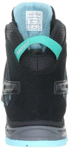 SALEWA JR ALP TRAINER MID GTX 00-0000064001 - Zapatillas de senderismo de ante para niños Gris