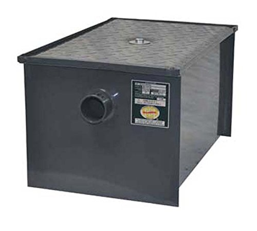 BK Resources 70 lb Grease Trap Interceptor by Central Restaurant