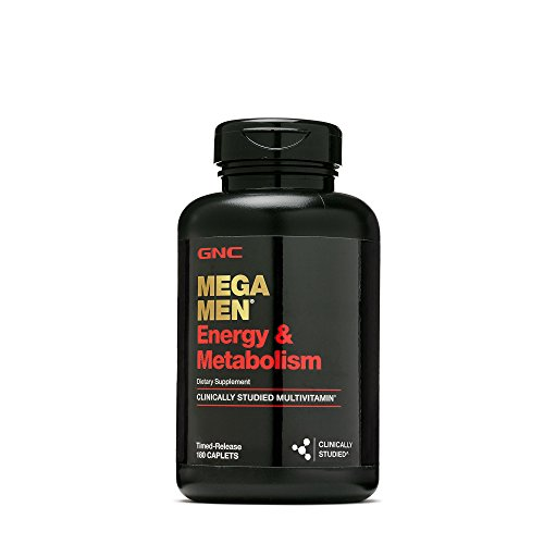 Gnc Mega Men Energy Metabolism   180 Caplets  90 Servings
