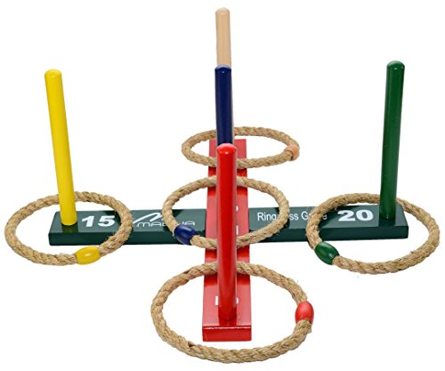 Mabua Ring Toss Indoor Outdoor Games Kids Adults
