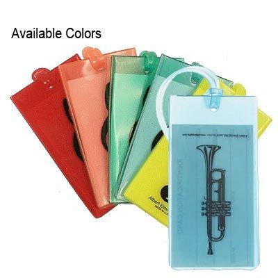 ID &音楽バッグタグ – トランペット( asst. Colors Available ) B00BIM85J2