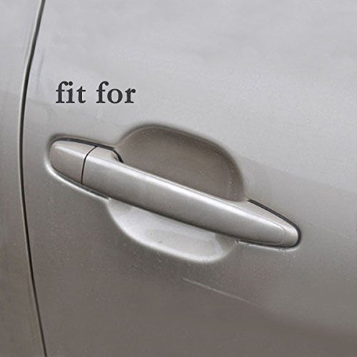 SEGADEN Chrome Door Handle Cover Trims fit for TOYOTA Corolla 2003-2013 XG2405A