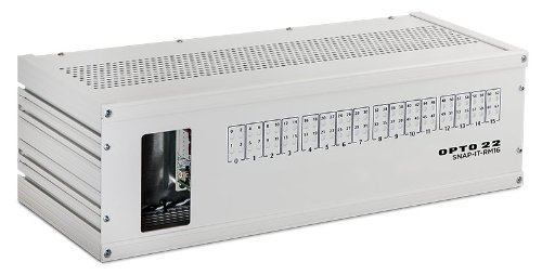 Opto 22 SNAP-IT-RM16 SNAP PAC System Enclosure, Rack Mounted, Standard 19