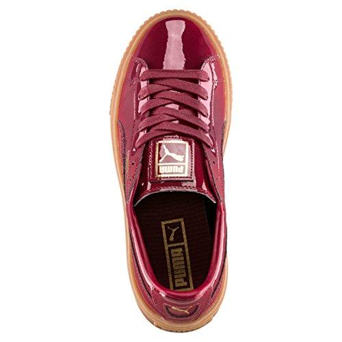 Puma Basket Platform Patent WNS 36331404, Trainers Red