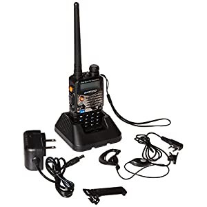 Baofeng UV5RA Ham Two Way Radio 136-174/400-480 MHz Dual-Band Transceiver (Black)