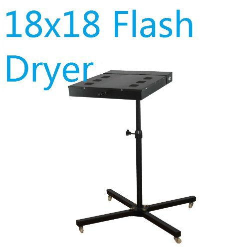 Rincons Flash Dryer 18x18, for Plastisol T Shirt Silkscreen by Rincons Heat Press