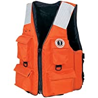 MUSTANG SURVIVAL MV3128T2-L-OR / Mustang 4-Pocket Flotation Vest - LG