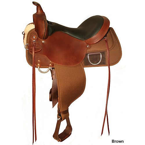 Circle Y High Horse Lockhart Saddle 17 Reg Black