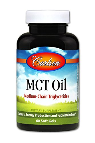 8300 Gel (Carlson MCT Oil 1,000 mg, Caprylic and Capric Acid, 60 Soft Gels)