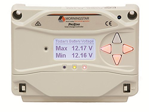 MorningStar ProStar PS-15M Solar Panel Battery Charge Controller w/ Meter 12/24V by Morningstar (Image #1)