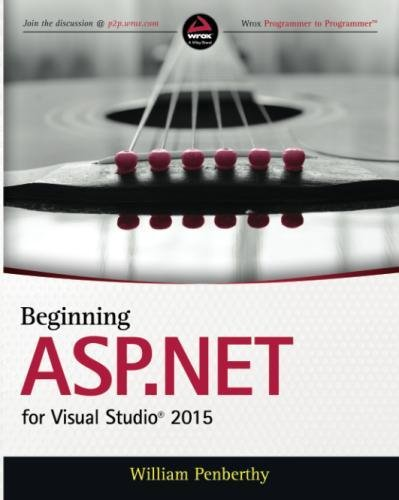 Beginning ASP.NET for Visual Studio 2015 by Wiley