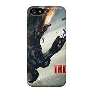 Premium Tony Stark In Iron Man 3 Back Cover Snap On Case For Iphone 5/5s