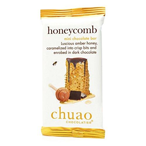 Chuao Chocolatier Honeycomb Dark Chocolate Mini Bar, 24 Count