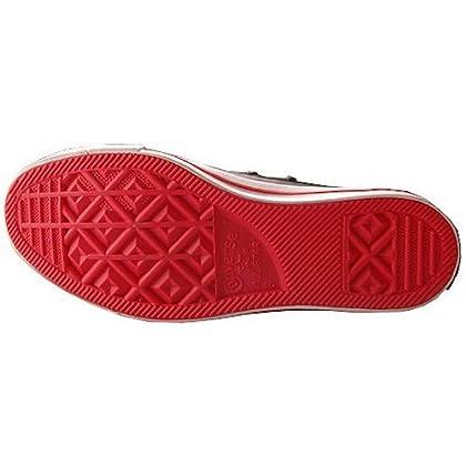 76da8e387d1a43 Converse Chuck Taylor All Star (Converse)RED Black Patent Leather Red Stripe  and Sole