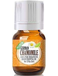 Chamomile, German 100% Pure, Best Therapeutic Grade...