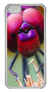 iPhone 5C Case Cover - Close-Up Of A Fly Custom PC Case Cover For iPhone 5C - Tranparent