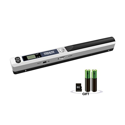 Buy Discount Cindy MSRM iScan Wand Portable Document & Image Scanner/USB Mobile Scanner Include 8G M...