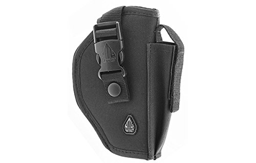 VITO Tactical Deluxe Commando Polyester Belt Holster Fit Most Compact to Full Size Pistols Black