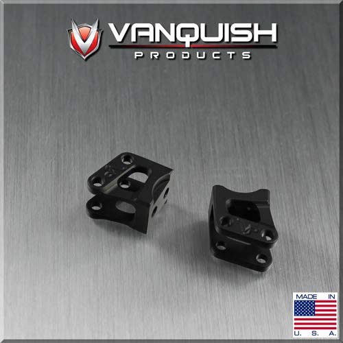 Vanquish Products AR60 Axle Shock Link Mounts, Black Anodized: Wraith, VPS04721