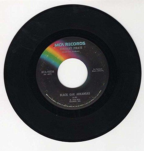 highway pirate / great balls of fire 45 rpm single (Black Oak Arkansas Great Balls Of Fire)